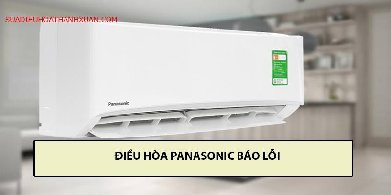 điều hòa Panasonic báo lỗi